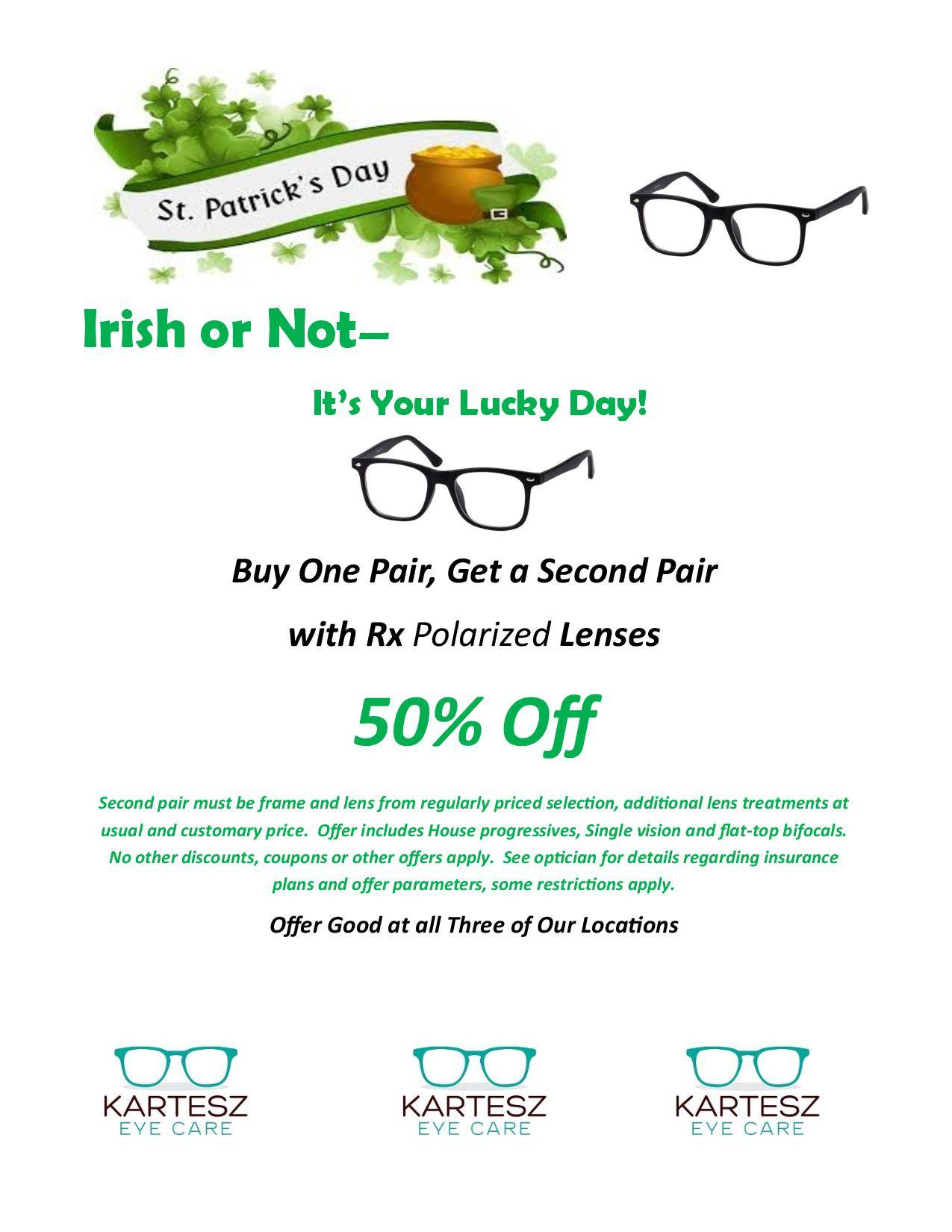 March St Patricks Day Sale 03 2019 page 001